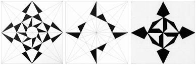 Obtenció de formes a partir de l'estructura portadora del quadrat.