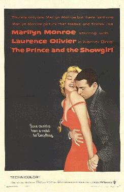 Cartell de la pel·lícula El príncep i la corista, Bill Gold, 1957, domini públic.