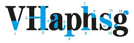 Figura 17. Tipografia: ITC Century Bold Condensed