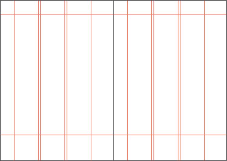Figura 104. Retícula de columnes